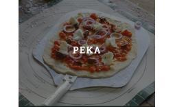 Peka kruha in Pizz