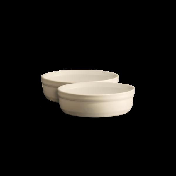 Emile Henry Keramične posode za Creme Brulee 12 cm Peščena 2 pak