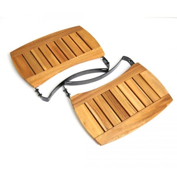 BGE vzdržljive police iz lesa Akacije za model XLarge