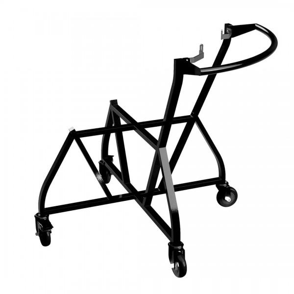 BGE Kovinski podstavek na kolesih z integriranim ročajem za XLarge EGG
