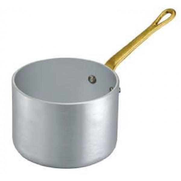 Mini ALU globoka posoda za omako premera 10 cm in enim ročajem