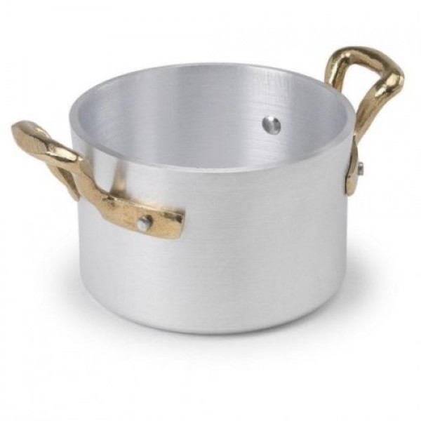 Mini ALU globoka posoda za omako premera 10 cm