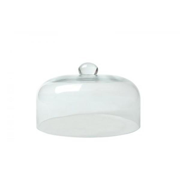 Stekleni pokrov v obliki zvona za uporabo z dimnim infuzorjem