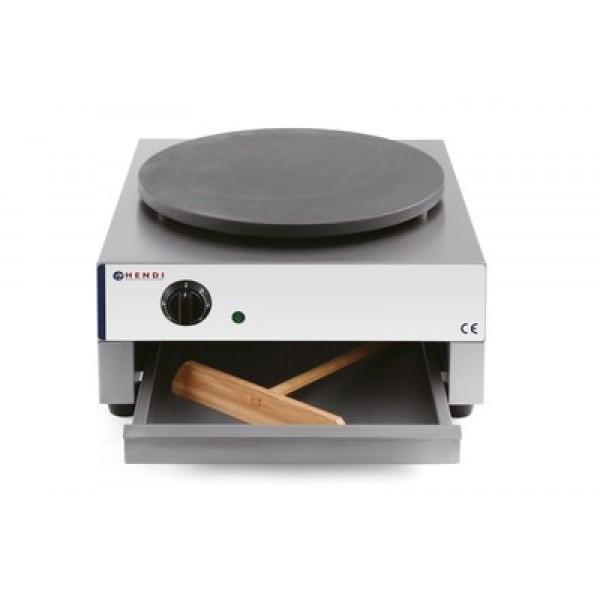 Električni aparat za peko palačink premera 400 mm z regulacijo temperature