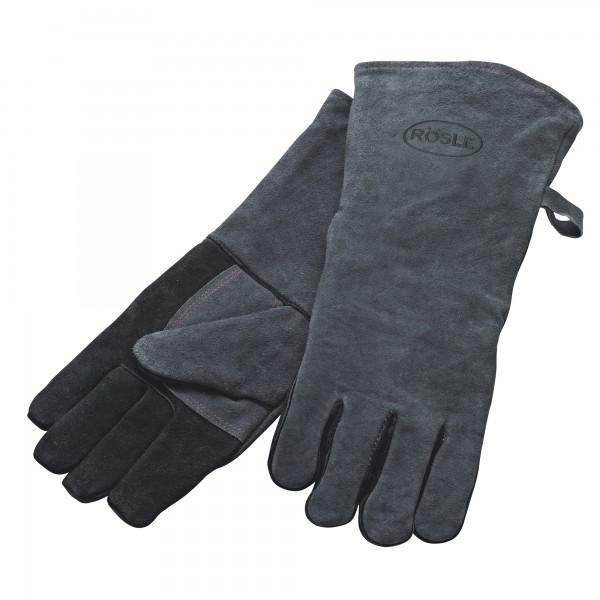 Roesle usnjene dolge rokavice za žar