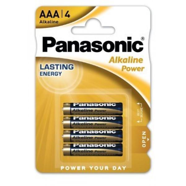 Alkalna baterija 1,5V AAA Panasonik 4 kos