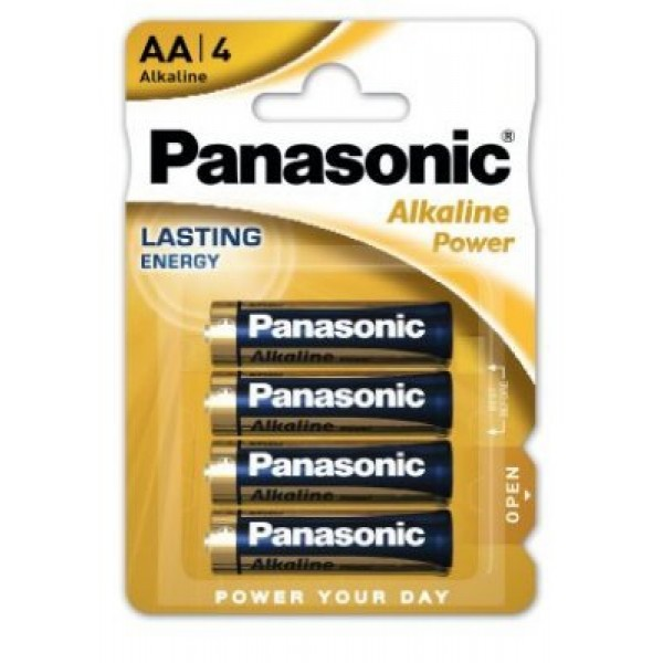 Panasonic alkalne baterije AA 1,5V LR06 - Blister 4 kos