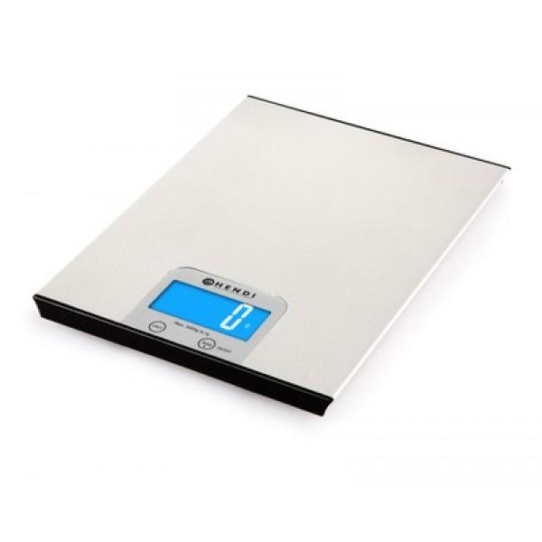 Digitalna natančna kuhinjska tehtnica do 5 kg INOX