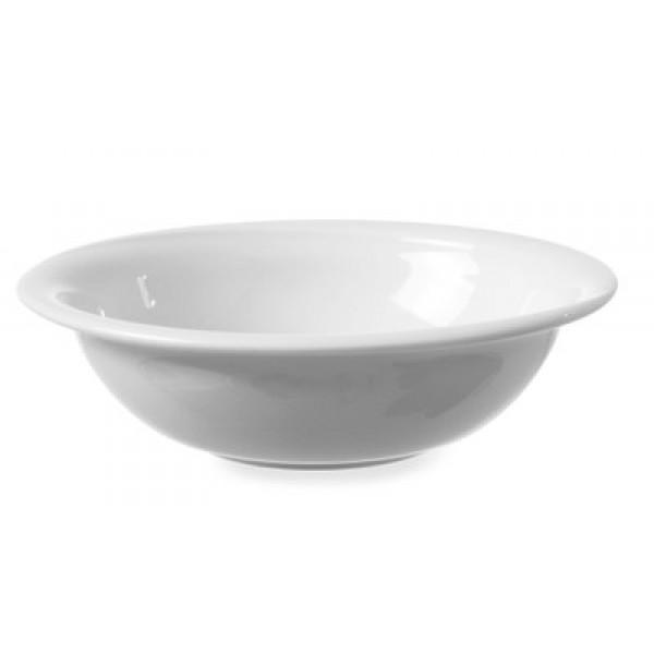 Solatna skodela premera 19 cm iz belega porcelana Exclusiv