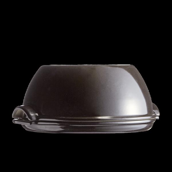 Emile Henry keramična specialna posoda za peko kruha 32,5 x 29,5 x 14 cm Črna