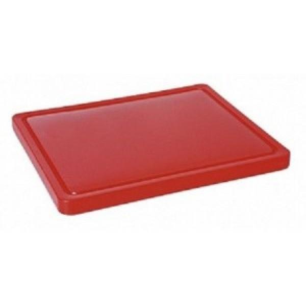 Gastronomska deska za rezanje265x325x(V)12 - Rdeča