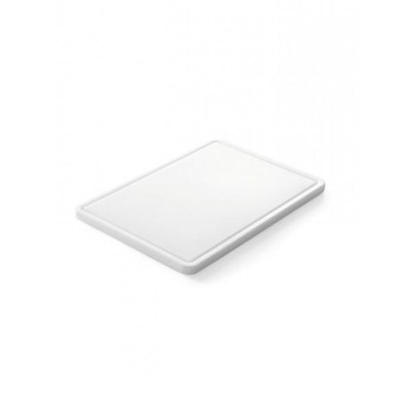 Gastronomska deska za rezanje 265x325x(V)12 - Bela