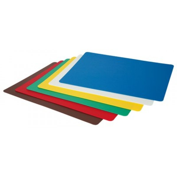 HACCP upogljive rezalne podloge 380 x 305 mm 6 kos (barv) v kompletu