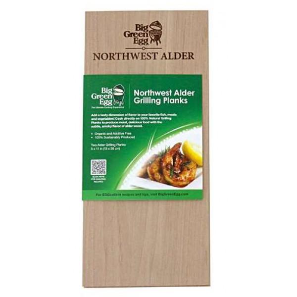 BGE lesene deščice za peko iz lesa Jelše (Alder), 13x28 cm
