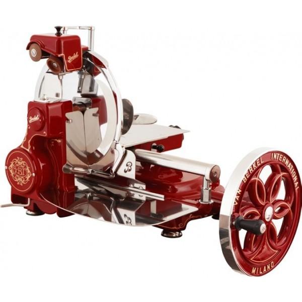 Berkel profesinalni ročni rezalnik Flywheel B114 rdeči