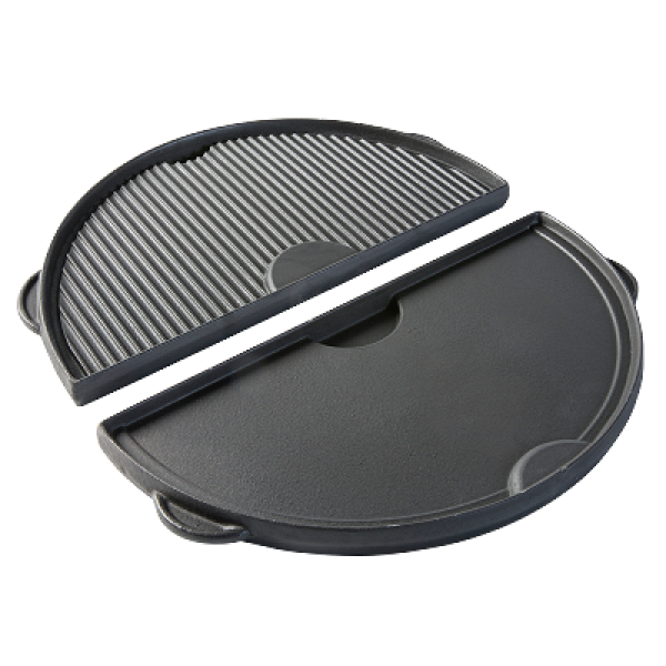 Litoželezna dvostranska plošča v obliki polmeseca - L