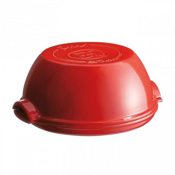 Emile Henry keramična specialna posoda za peko kruha 32,5 x 29,5 x 14 cm Rdeča