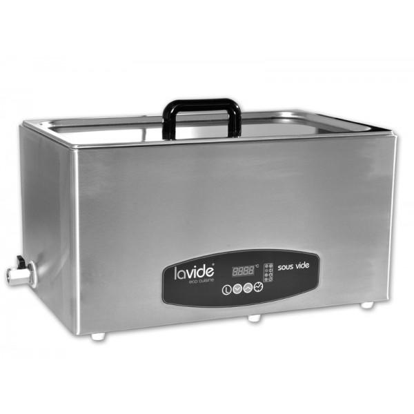 Sous-Vide profesionalni kuhalnik - vodna kopel 28 l Inox s pokrovom