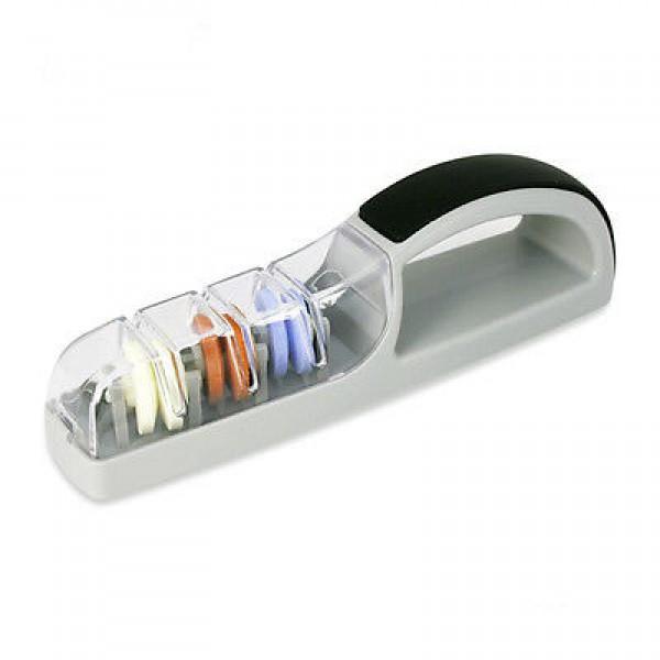 MinoSharp vrhunski keramični brusilnik za nože 550 BR Plus3 sivo / črn