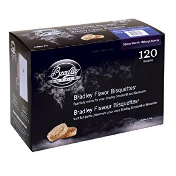 Lesni piškotki za dimljenje Special blend (Posebna mešanica) 120 pak