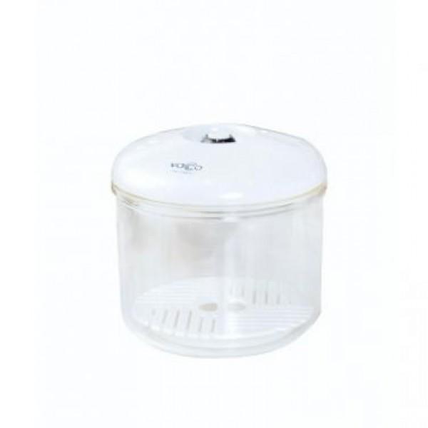 Posoda za vakumiranje jedi, okrogla premera 100 mm * 145 mm 0,6 l