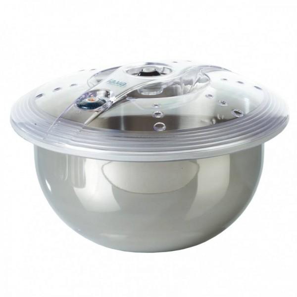 Posoda za vakumiranje jedi iz nerjavečega jekla, okrogla premera 240x125 mm 4 l