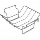 BGE dvonamensko manjše V stojalo za peko rebrc ali večjih kosov mesa, INOX S