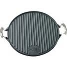 Roesle litoželezna dvostranska grill plošča premera 40 cm