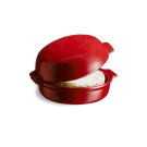 Emile Henry keramični pekač za sir 0,55 l Rdeč