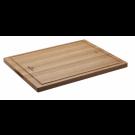 Roesle lesena deska za rezanje 45 x 35 cm z lovilcem tekočine