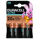 Duracell baterijski vložek Ultra Powercheck LR6 AA 4 pak blister