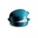 Emile Henry keramični pekač za sir 0,55 l Mediteransko moder