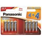 Panasonic 8 x Alkalne PRO Power baterije LR6/AA