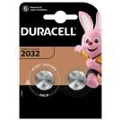 Gumbna baterija CR 2032 litijeva Duracell CR2032 220 mAh 3 V, 2 kos
