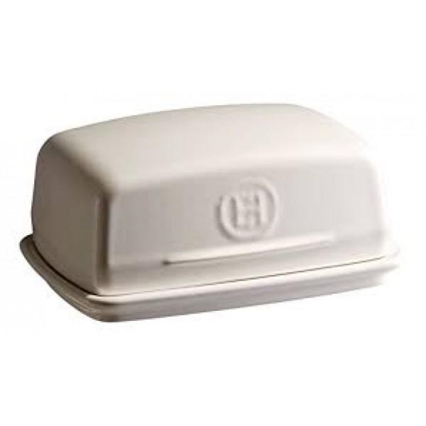Emile Henry keramična posoda za maslo, Apnenčasta
