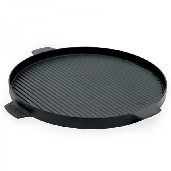 Litoželezna okrogla žar plošča 34,5 cm - obojestranska