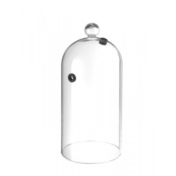 Stekleni visoki pokrov za uporabo z dimnim infuzorjem in priklopom 130*282