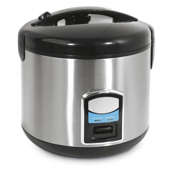 Električni kuhalnik za riž s funkcijo kuhanja na pari