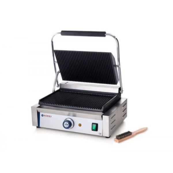 """Električni kontaktni grill """"PANINI"""" z rebrasto površino 34 x 23 cm"""