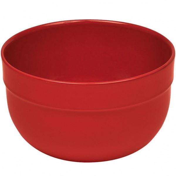 Emile Henry keramična visoka skleda za solato in mešanje premera 17,5 cm Rdeča