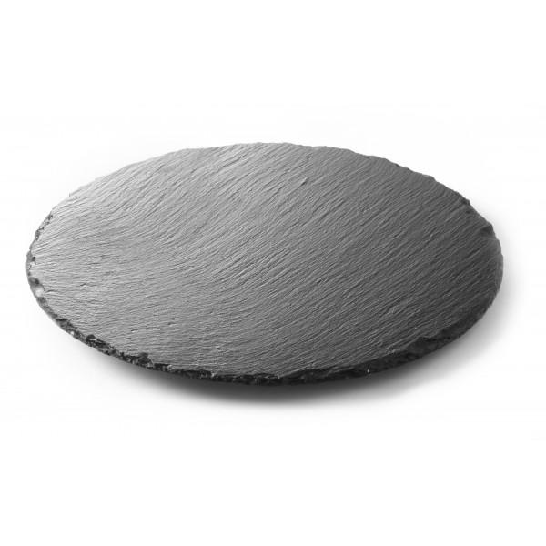 Servirni krožnik iz naravnega materiala Okrogli ø300 2 Pak