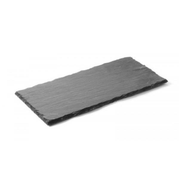 Servirni krožnik iz naravnega materiala oglati 300 x 100 mm 2 Pak