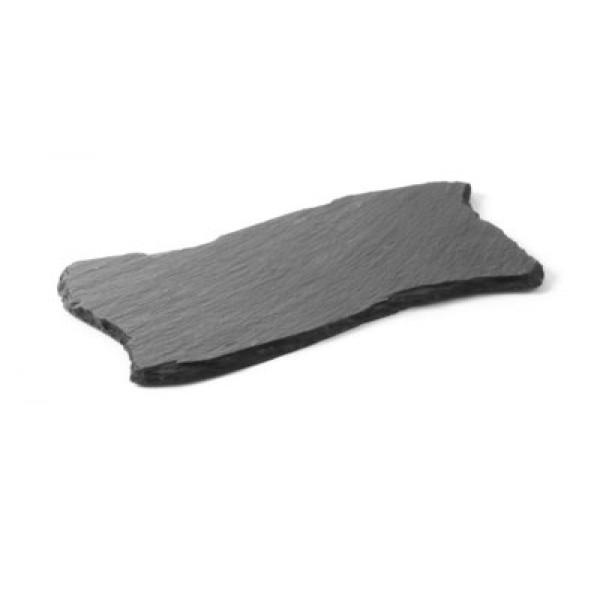 Servirni krožnik iz naravnega materiala val 200 x 100 mm 2 Pak