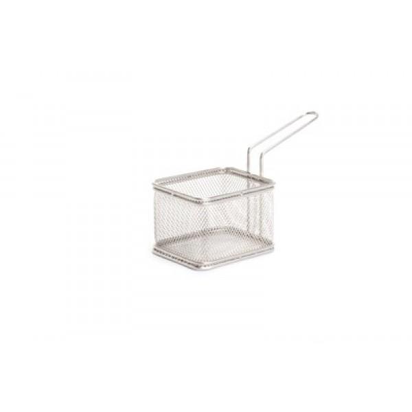 Košarica miniatura za serviranje hrane 100x80 inox