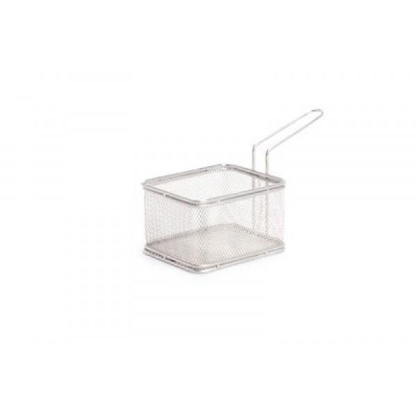 Košarica miniatura za serviranje hrane 105x90 inox