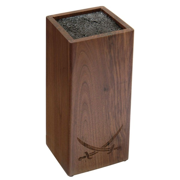 Roesle leseno stojalo za nože iz orehovega lesa Sansibar