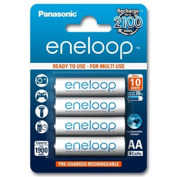 Panasonic ENELOOP polnilne baterije 4x AA 2000mAh
