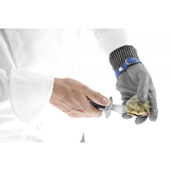Zaščitne protivrezne rokavice za odpiranje ostrig - Medium