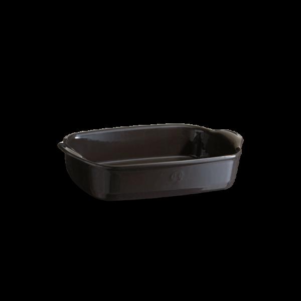Emile Henry keramična posoda za peko - pekač 29*19*7 cm Črna