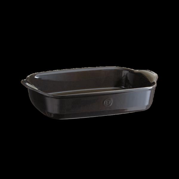 Emile Henry keramična posoda za peko - pekač 36*23*7 cm Črna